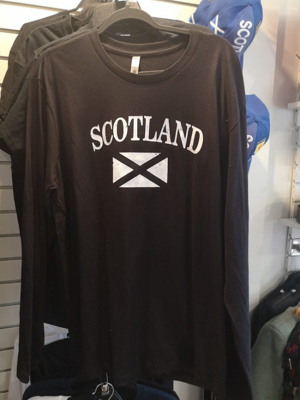 Long Sleeve Scotland Shirt